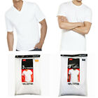 New 6 Pack For Mens 100 Cotton Tagless T Shirt Undershirt Tee White S XL