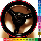 MOTORCYCLE RIM STRIPE WHEEL DECALS TAPE STICKERS FOR HONDA CBR 600RR F F2 F3 F4i