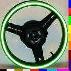 REFLECTIVE LIME GREEN RIM STRIPES WHEEL DECAL TAPE KAWASAKI NINJA ZX6R ZX7R ZX9R