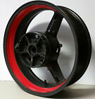 RED MOTORCYCLE INNER RIM DECALS WHEEL STICKERS STRIPES TAPE VINYL WRAP ANY COLOR
