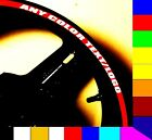 3M REFLECTIVE PRINTED CUSTOM MOTORCYCLE CAR RIM STRIPES WHEEL TAPE DECAL STICKER