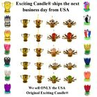 Amazing Lotus Flower Musical Birthday Candle 16 DIFFERENT COLORS