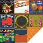 Reminisce LABEL CLASSIQUE CORONA LILY 12x12 Dbl Sided 2 Papers