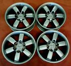 4 NISSAN TITAN ARMADA FACTORY OEM DARK HYPERSILVER 18 WHEELS RIMS 62603 62489