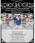 2017 Topps Museum Collection Baseball Factory Sealed Hobby Box 4 Hits!