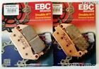 Honda GL1500 F6C Valkyrie EBC Sintered FRONT Disc Brake Pads (FA142HH) (2 Sets)