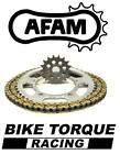 Yamaha TT125R E Big Wheel 02-15 AFAM Recommended Chain And Sprocket Kit
