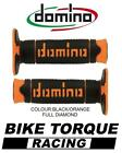 Maico 250/500 GME Domino Full Diamond Grips Black / Orange