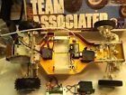 Vintage Team associated RC 10 gold pan. RTR . A stamp .kit no. 6010 old school