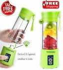 USB Electric Juicer Cup Rechargeable Mixer Fruit Blender Bottle Protein Shaker