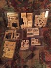 Stampin Up Rubber Stamp sets retired lot 3