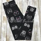 NWT Cute Cat Leggings Butter Soft One Size 2 12