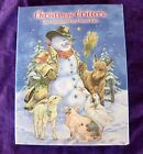 New Pkge LEANIN TREE 12 Christmas Cards Env CHRISTMAS CRITTERS Cowboy Snowman