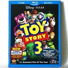 Toy Story 3 Blu ray Disc 2010 2 Disc Set Brand New  w Slipcover
