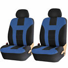 Premium U.a.a. Inc. Universal Polyester Front Low Back Seat Covers For Cars