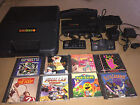 NEC TurboGrafx-16 Console Complete + 8 Games & Turbo Tap Keith Courage Pac-Land