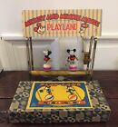 Antique 1930s Borgfeldt Mickey  Minnie Mouse Playland Windup Celluloid Disney