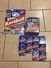 1993 Topps Baseball Series 1 Lot 20 Sealed Packs And Box With Poster Jeter?