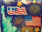 NEW Sealed PATRIOTIC 4th of July SANDYLION STICKERS 1999 2 Full Sheets