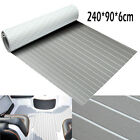 94 X 35 grey EVA Foam Teak Sheet Marine Boat Synthetic Teak Decking Floor Mat