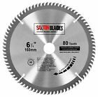Saxton TCT Circular Wood Saw Blade 160mm x 20mm x 80t for Festool TS55 Bosch