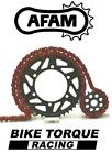 Gas Gas 125 MC Cross 2002 AFAM Upgrade Red Chain And Sprocket Kit