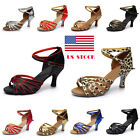 273 Womens Girl Latin Salsa Tango Stiletto Dancing Shoes High Heels Sandals