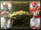 2008 Exquisite #SC Jamaal Charles Jonathan Stewart Autograph Gold Ink RC 14 15