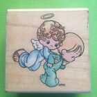 Stampendous Precious Moments First Step rubber stamp