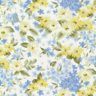 Bristol Daisy Floral Yellow White Fabri Quilt 100 cotton fabric by the yard
