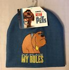 The Secret Life of Pets My Place My Rules Child Beanie Hat NWT