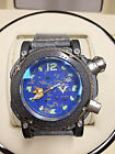 Visconti Abyssus Urban Camo Navy 3000M Diver with Watch Winder Retail $6,250