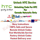 HTC BELL CANADA network unlock code for HTC Pure