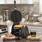 Waffle Maker Non-stick Coating Belgian Kitchen Cooking Handle Tool Stainless New