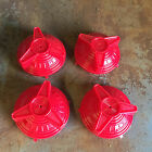 Set of 4 AMF VINTAGE PEDAL CAR HUB CAPS