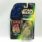Star Wars POTF2 TUSKEN RAIDER Figure Kenner 1996 Green HOLO Card COLLECTION 2 3