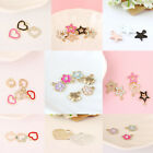 10pcs New Heart Star Alloy Charms Necklace Pendants Beads DIY Jewelry Craft