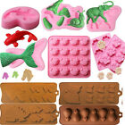 Animal Designs Silicone Fondant Chocolate Cake Mold Decor Cookies Baking Mould