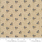 REFLECTIONS BY 1 2 YD Moda CIVIL WAR BLUE CIRCLES on buff tan Jo Morton 38018 22