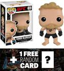 Conor McGregor Funko POP x UFC Vinyl Figure 1 Wrestling Themed Trading Card...