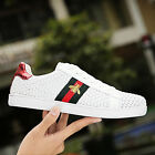 New Fashion Weave Breathable Sneakers Sport Casual Running Board Mens Shoes