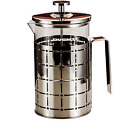 Coffee Maker French Press Heat-resistant Glass Beaker Plastic Handle Mesh Filter