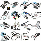 Universal 8mm 10mm Motorcycle Rearview Rear View Side Mirrors Cruiser Chopper