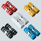 Multi color Fixie BMX Bike Pegs Kid Alloy Stunt Front Rear Foot Pegs Axle 1Pair