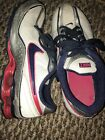 Youth Girls Size 5Y Nike Impax Nike Running Shoes 316794 141 Berry Navy Silver