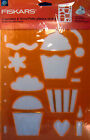 Fiskars CUPCAKES  MORE ShapeCutter Ultra ShapeXpress Shape Template NIP