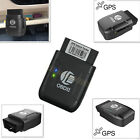OBD2 GPS Tracker Car Spy Personal Vehicle GPRS RealTime Tracking  Locator Device
