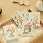 Decoration 52 Pcs Cute For Scrapbooking Sticky Paper Stickers DIY Paper Flower