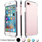 For iPhone 7 8 Plus X Case Slim Shockproof Clear Soft Silicone TPU Crystal Cover