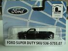 RIVER POINT 2008 FORD  F-350 XLT 4x4 DRW  REG. CAB  BLACK  1/87  HO  PLASTIC